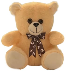 Ultra Soft Toys Teddy Bear Small Rinku Butter 11 inch
