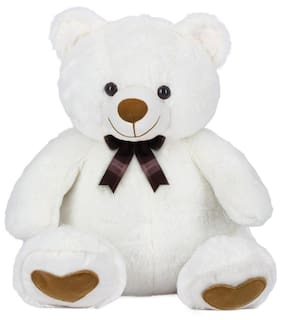 Ultra Soft Toys Teddy Bear Hugging Angel White 18 Inch