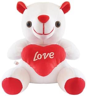 ULTRA White Teddy Bear - 15 cm