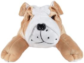 Ultra Soft Toys Animal Bull Dog 18 inch Camel Brown