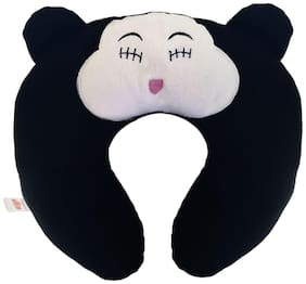 Ultra Soft Toys Cat Travel Neck Cushion Pillow Black 14 inch