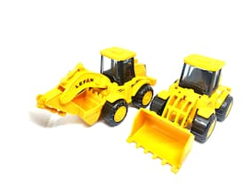 Unbreakable JCB Excavator Small Size Fits in Hands Free Wheel Moveable Parts
