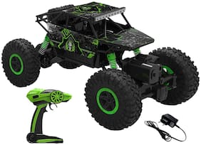 Unique Cartz 2.4Ghz 1/18 RC Rock Crawler Vehicle Buggy Car 4 WD Shaft Drive High Speed Remote Control Monster Off Road Truck (Assorted)