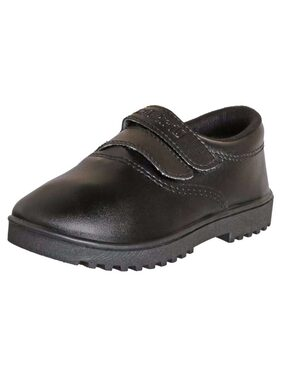 Unistar Black School Shoes for boys