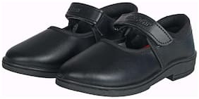 Unistar Black Girls School shoes