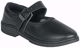Unistar Black School shoes For Girls