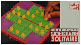 United Toys Fold Away Magnetic Solitaire
