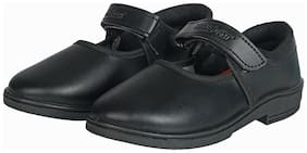 Unistar Black Girls School shoes