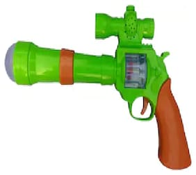 Universal Projection Strike GUN with 3D Projection Lights and Sound for Kidz