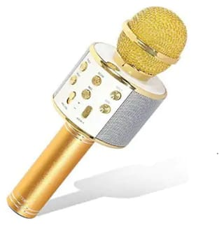 Universal Wireless Portable Handheld Singing Machine Condenser Microphones Mic Compatible with All Android Smartphones