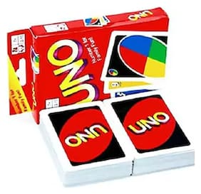 Universal UNO CARDS (classic card game of matching colors and numbers)