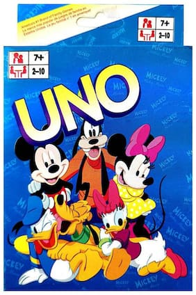 UNO PLAYING CARDS GAME DISNEY CARD (1PC) ASSORTED COLOR