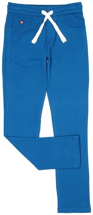 U.S. Polo Assn. Boy Solid Trousers - Blue
