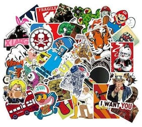 US Seller- 100pcs Stickers Motorcycle Skateboard Decal luggage decal