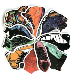 40 stickerbomb window decal running sports shoes vinyl stickers