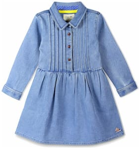 Cherry Crumble Utility Chest Pleated Dress
