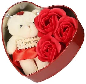 UTKARSH Red Teddy Bear - 10 cm