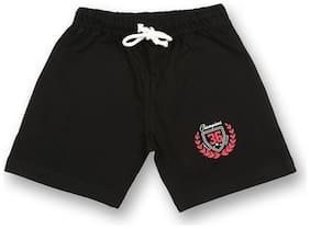 V2 Boy Solid Shorts & 3/4ths - Black