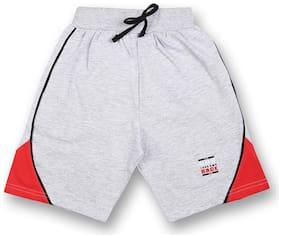 V2 Boy Solid Shorts & 3/4ths - Grey