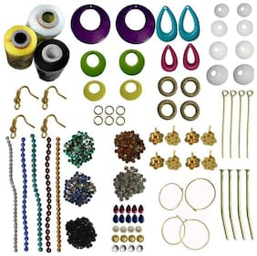 Valuebuy silk thread jewellery making kit- Earing  making kit