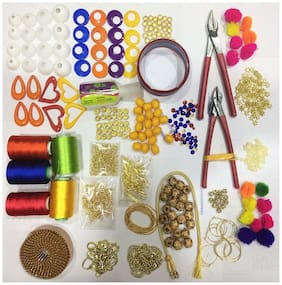 Valuebuy Silk Thread Jewellery Making Quality Kit
