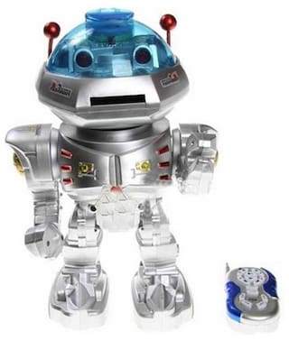 Variety Gift Centre Multicolor Plastic Remote Control Robot