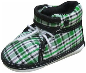 VBaby Green Casual Shoes For Infants