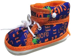 VBaby Orange Casual Shoes For Infants