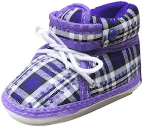 VBaby Purple Casual Shoes For Infants