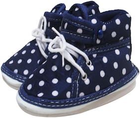 VBaby Navy blue Casual Shoes For Infants