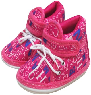 VBaby Pink Casual Shoes For Infants
