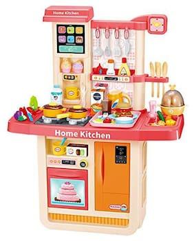 VBE 54 Piece Barbie Kitchen Set for Kids Girls Toys | Kids Toys for kids