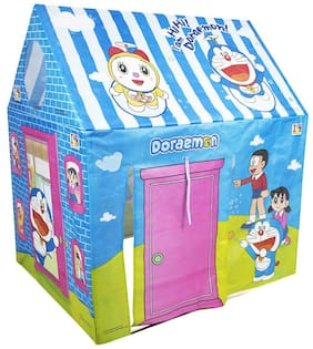 VBE Doraemon Jumbo Size Extremely Light Weight;Water Proof Kids Play Tent House For Kids