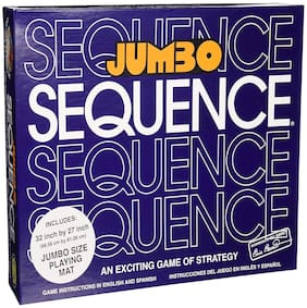 VBE Jumbo Sequence Box Edition Board Game Family Indoor Games
