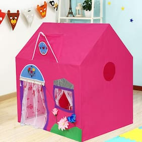 VBE Jumbo Size Queen Palace Extremely Light Weight Water Proof Kids Play Tent House for 10 Year Old Girls and Boys