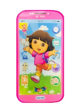 VBE My First Mobile for Kids Play and Learn;Touch Screen with Poem and Ringtone and More Features