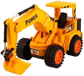 VBE Remote Control Cheetah JCB Construction Truck Yellow For Kids