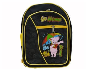 Vedic Deals Go Home Black School Bag