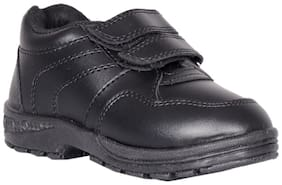 Polo Black Boys School Shoes