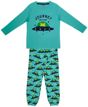 Ventra Nightwear For Boy Green