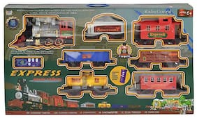 Venus Toys  Train Set With Front LED Light For 4-6 Years 448