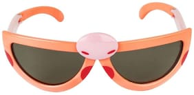 VESPL Polarized Foldable And stretchable Kids Sunglass