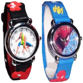 vibama  Spiderman Kids Watch FG-18 (Also best for Birthday gift and return gift for kids) Analog Watch - For Boys & Girls