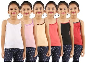 Vica Pota Camisole for Girls - Multi , Set of 2