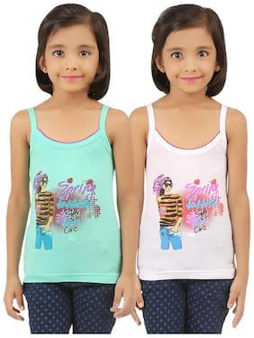 Vica Pota Vest for Girls - Green , Set of 2