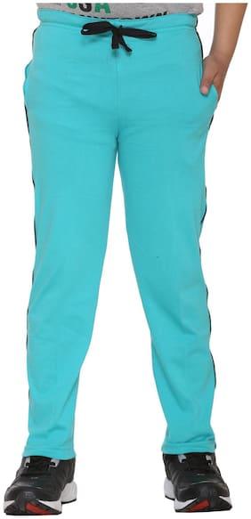 VIMAL JONNEY Boy Cotton blend Track pants - Blue