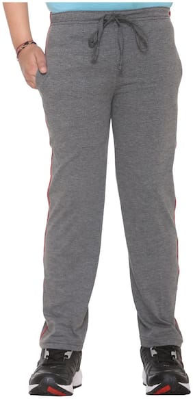 VIMAL JONNEY Boy Cotton blend Track pants - Grey