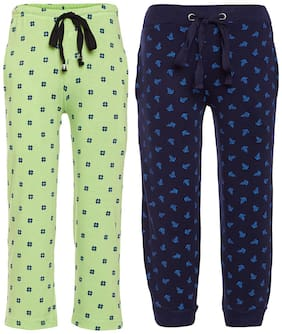 VIMAL JONNEY Boy Cotton Track pants - Multi