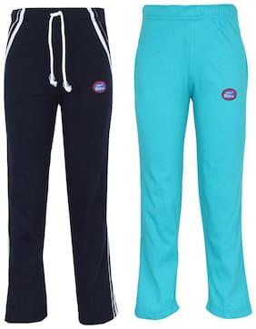 VIMAL JONNEY Boy Blended Track pants - Blue