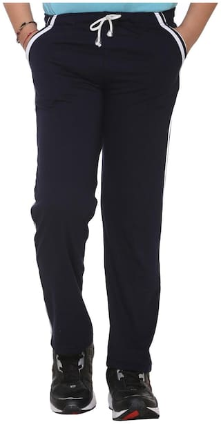 VIMAL JONNEY Boy Blended Track pants - Black